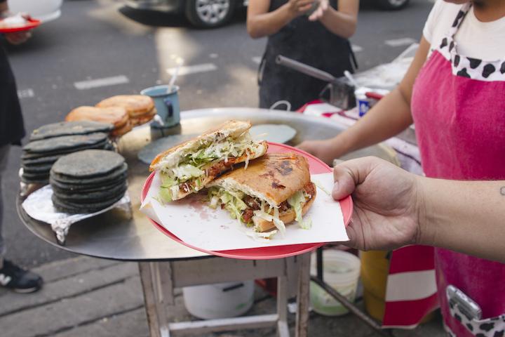 Pambazo Street Food Mexico City