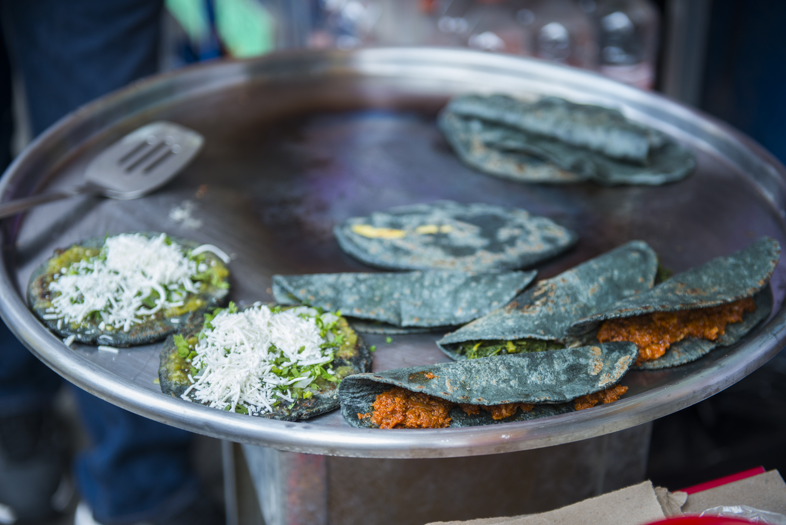 Blue Corn Tortillas - Food Tours in Mexico City