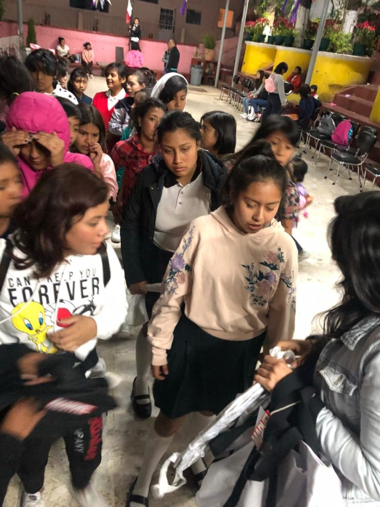 Children helped by Acopio Pilares in Mexico City