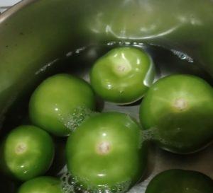 raw tomatillos